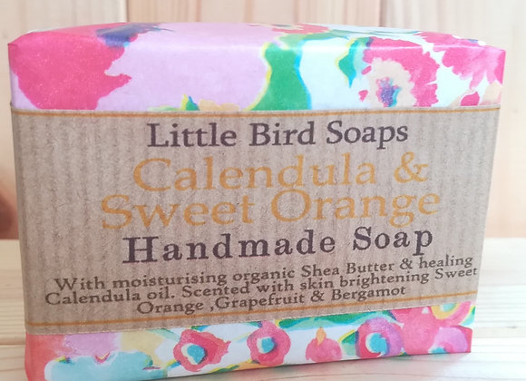 Handmade Soap - Calendula and Sweet Orange