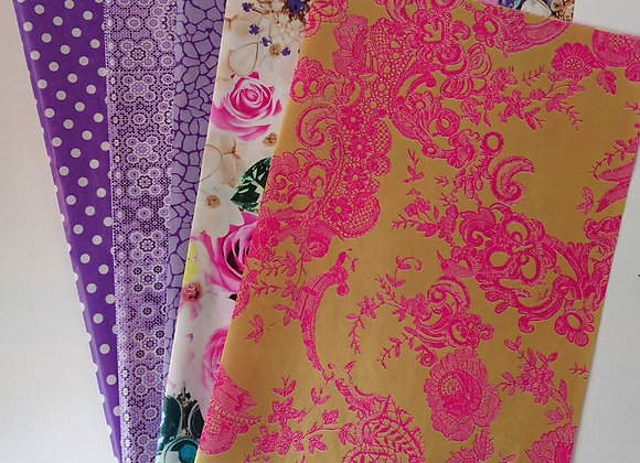Decopatch paper pack - Purples