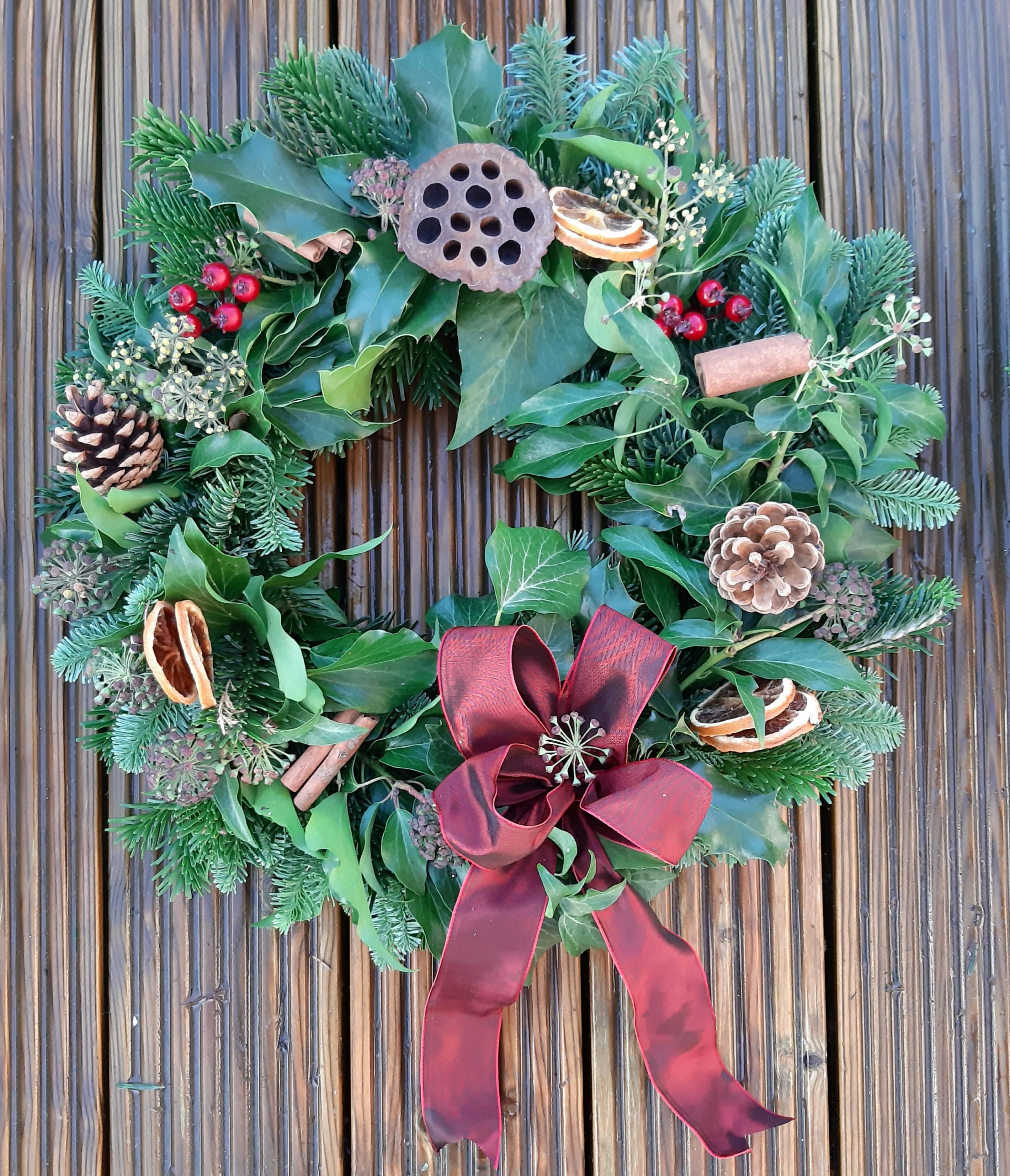   Xmas Door Wreath   £35.00   Dec 12