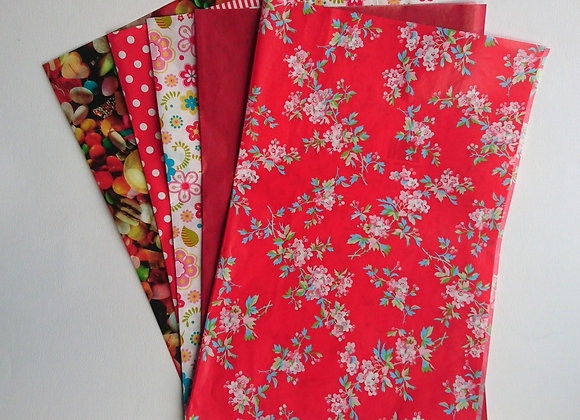 Decopatch paper pack - Reds
