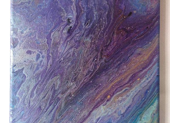 Amethyst Geode Canvas