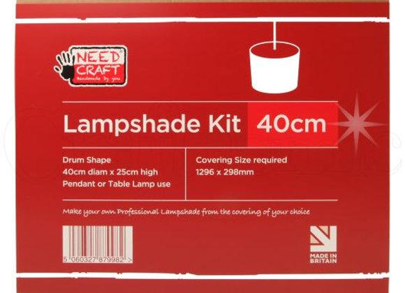 40cm Drum lampshade kit