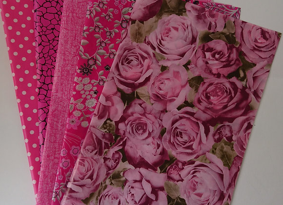 Decopatch paper pack - Pinks
