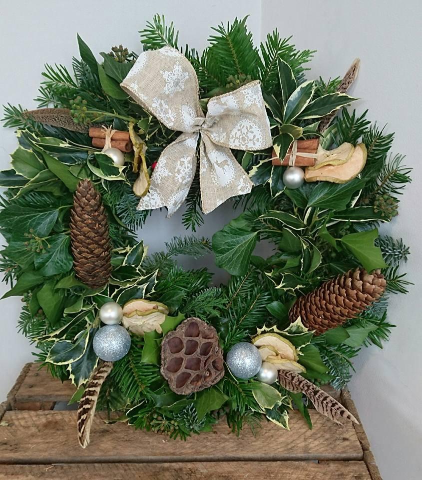   Xmas Door Wreath   £35.00   Nov 28 AM