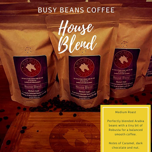 Busy Beans Coffee 250g bag