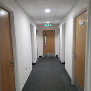 Decoration of new offices & corridors