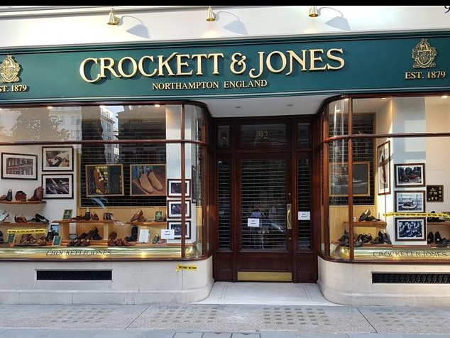 Crockett & Jones, Jermyn st