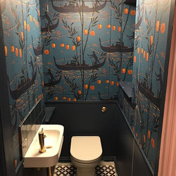 Before and after photos of a Bathroom in