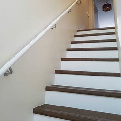 3 story hall stairs & landing completed