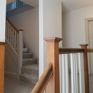 Hall stairs and landing finished-Blackheath