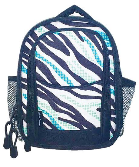 Zebra Dome Lunch Bag