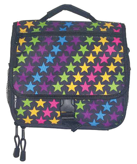 Star Print Messenger Lunch Bag