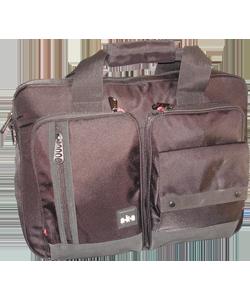 Multi Compartment Zipper Briefcase