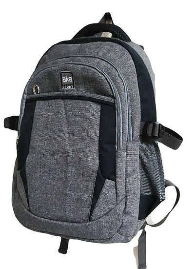 Gray Ripstop Backpack