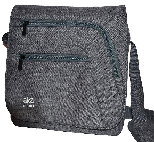 Grey Heathered Mini Briefcase