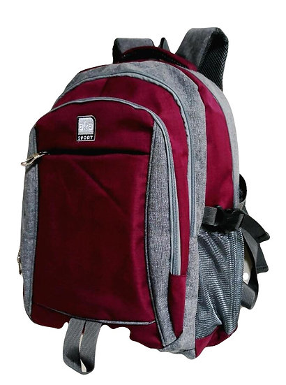 Triple Entry Backpack