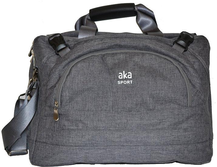 Grey Heathered Briefcase