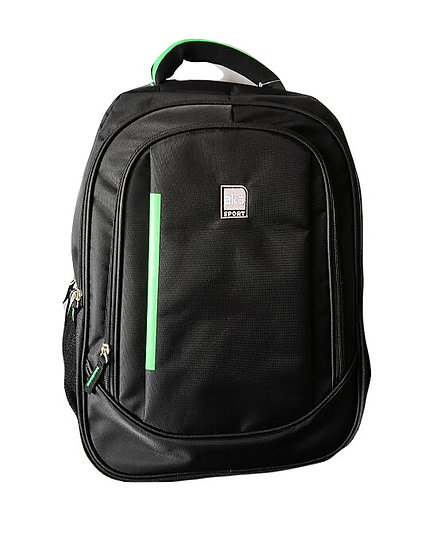 Jacquard with Vertical Accent Backpack