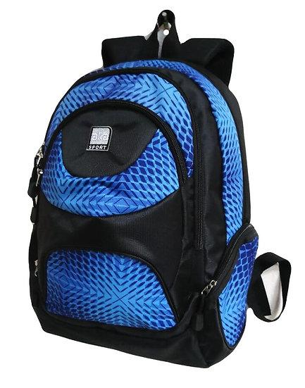 Jacquard Print Backpack