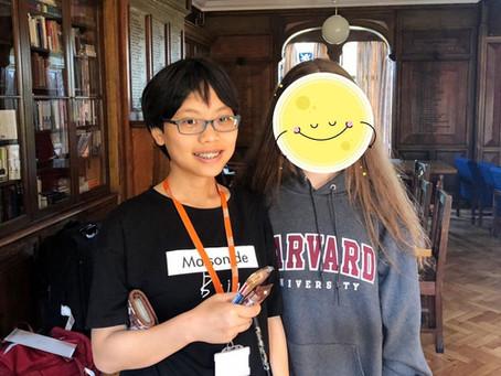 Peggy Chen / 中山女中三年級 / 一對一英文 / Peggy媽媽:Peggy要謝謝ebs!