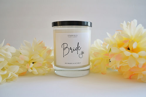 BRIDE candle | 10-oz Natural Soy Candle