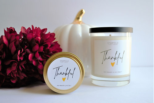 THANKFUL | Fall Scented Candle