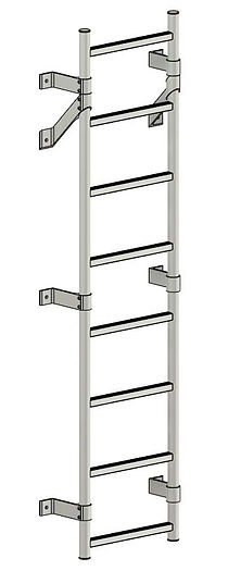 Wall Mounted Mechanical Ladder.JPG