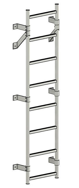 Wall Mounted Mechanical Ladder.JPG