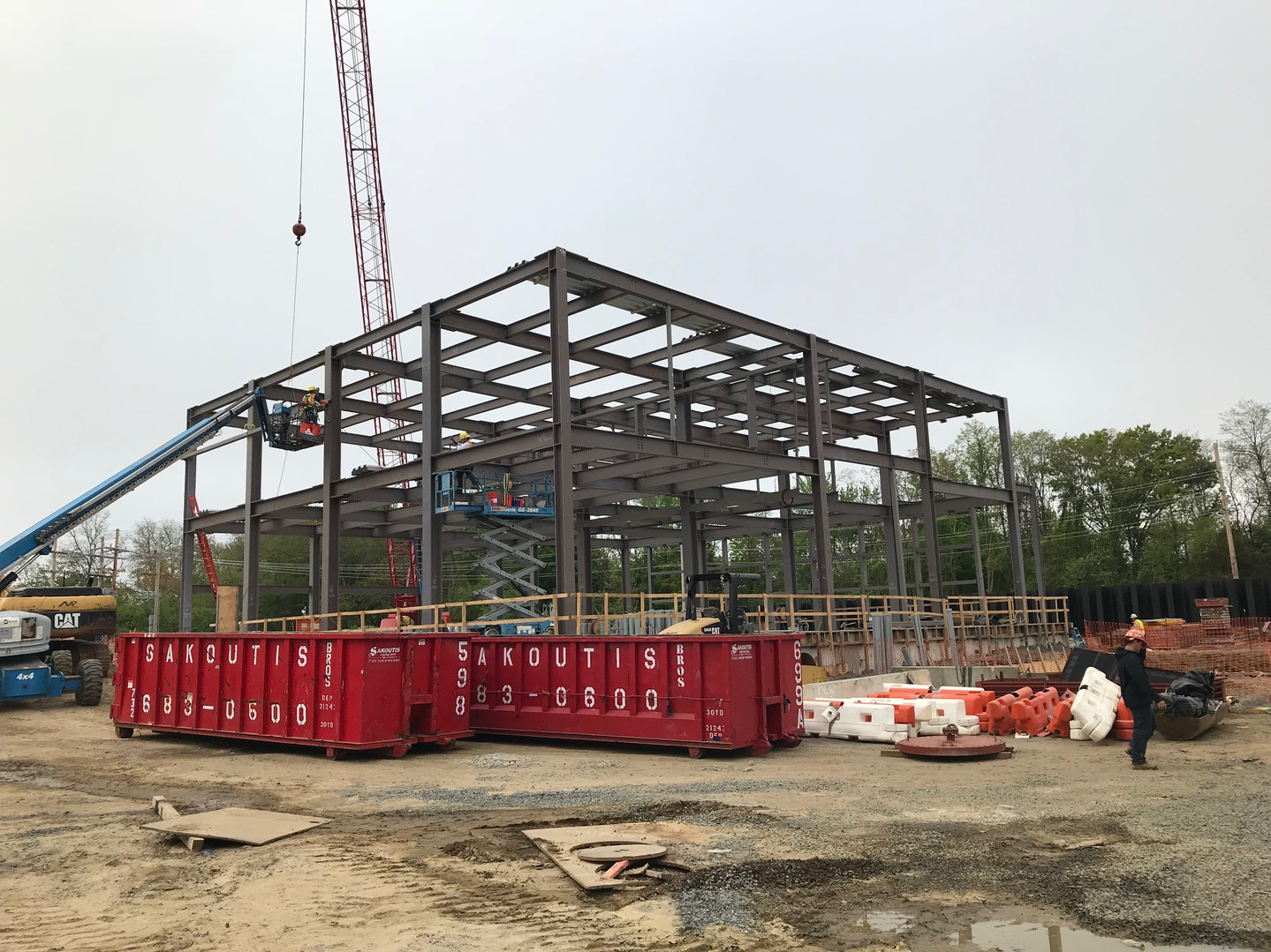 Sayreville MCUA Pump Station Structural Steel