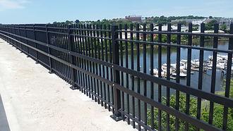 Yankee Doodle Bridge Pedestrian Railing