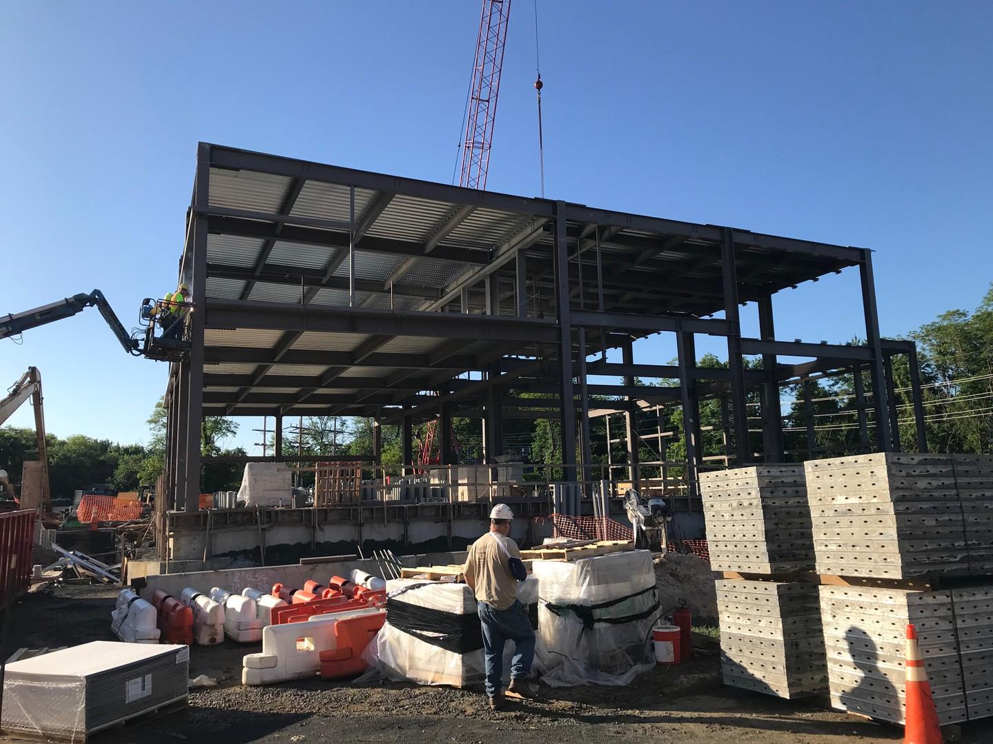 Sayreville MCUA Pump Station Structural Steel