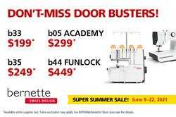Bernette Sale! June 9 - 22