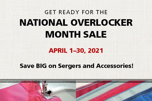 National Overlocker Month!