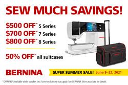 Savings on 5, 7, 8 series. 50% Off Suitcases