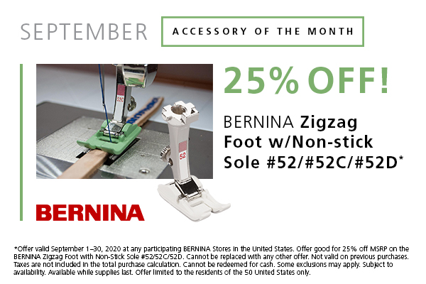 September Accessory of the Month