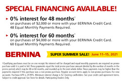 0% Interest Financing for up to 60 Months!