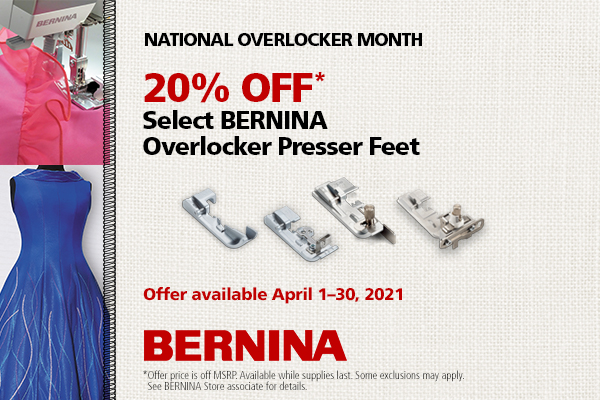 Overlocker Feet Sale!