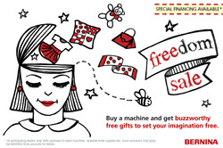 Freedom Sale July 16 through August 31