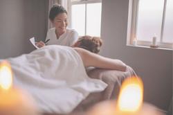 Woman Massage Therapist