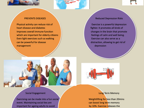 How can exercise improve mental health?