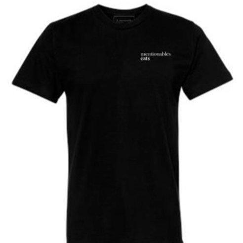 Mentionables Eats Logo - Black