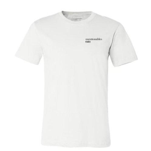 Mentionables Eats Logo -White