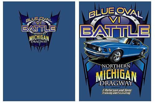 2018 Blue Oval Battle T-Shirt