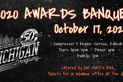 2020 Awards Banquet Ticket (child under 13 & under)