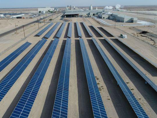 GL Plaster City Solar