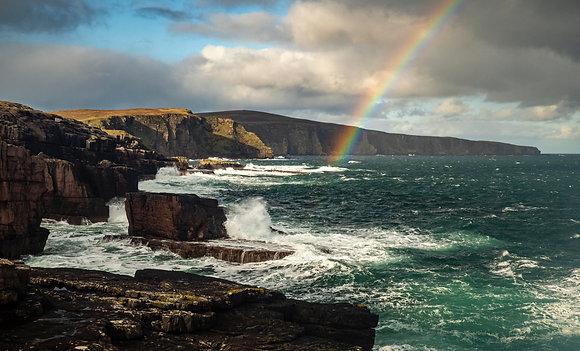 Rainbow cliffs