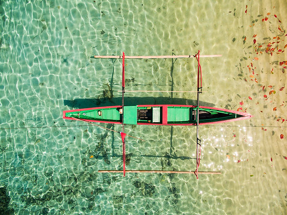 Sulawesi outrigger