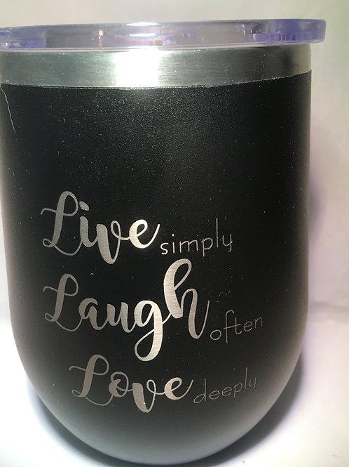 Live-Laugh-Love Tumbler