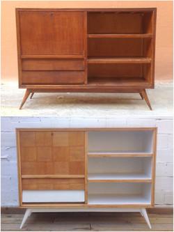 Mueble bar renovado