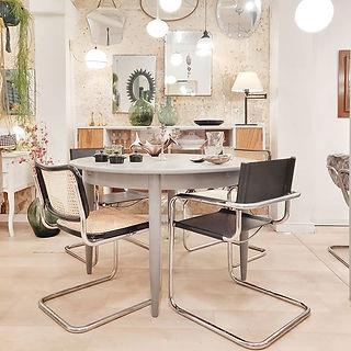 Mezclando sillas que son un clásico para
